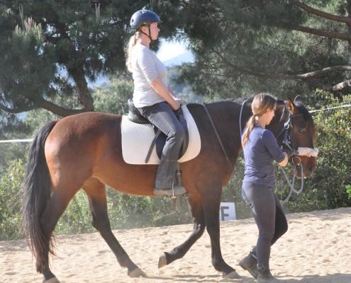 Clases equitación conectada